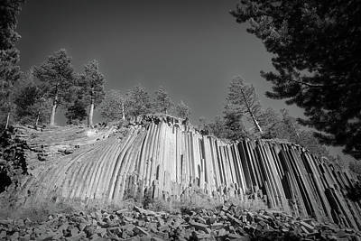 Photograph - Devils Postpile by Donna Kennedy