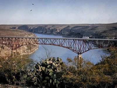 Photograph - Devils River Hi Bridge by Charles McKelroy