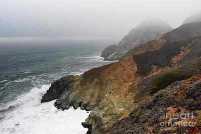 Rocky Coast Photograph - Devil's Slide  by Scott Cameron