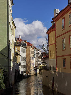 Photograph - Devils Stream. Prague Spring 2017 by Jouko Lehto