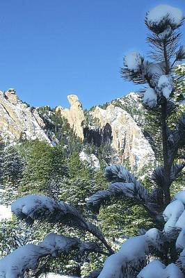 Photograph - Devil's Thumb In Winter by NaturesPix