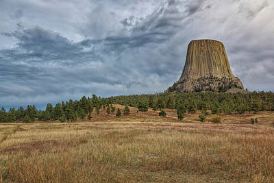 Photograph - Devils Tower Expanse by John M Bailey