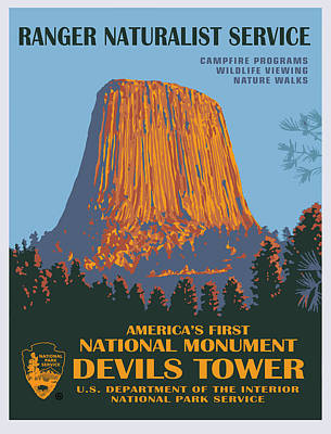 Painting - Devils Tower by Gary Grayson