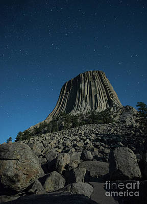Craggy Photograph - Devil's Tower by Juli Scalzi