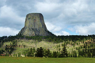 Photograph - Devils Tower by Marie Leslie
