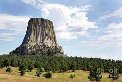 Photograph - Devils Tower National Monument by Steven Frame
