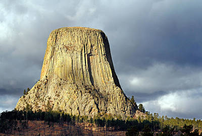 Photograph - Devil's Tower by Nicholas Blackwell