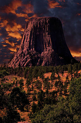 Photograph - Devils Tower Sunrise by Scott Read