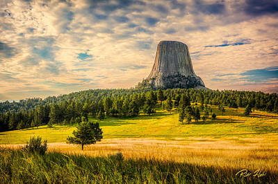 Photograph - Devil's Tower - The Other Side by Rikk Flohr