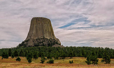 Photograph - Devils Tower Wyoming by Loree Johnson