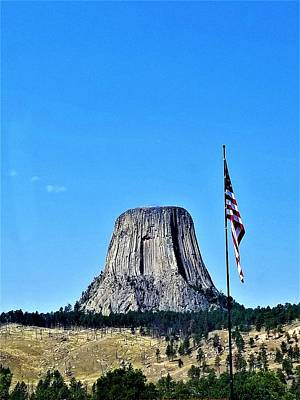 Photograph - Devil's Tower3 by Rob Hans
