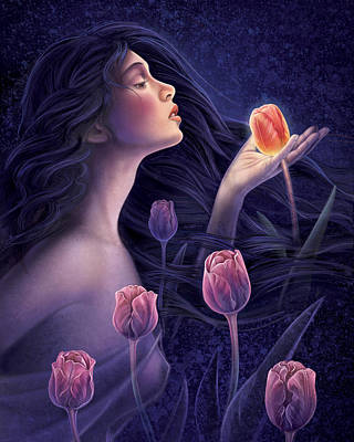 Painting - Devotee To Beauty by Anne Wertheim