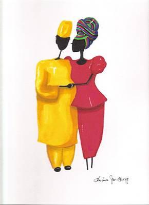 Devotion Art Print by Bee Jay
