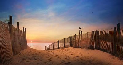Dewey Sunrise 2 Art Print by Lori Deiter