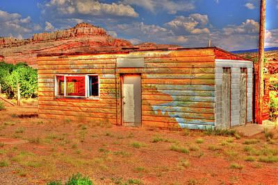 Photograph - Dewey Utah Cabin by Richard J Cassato