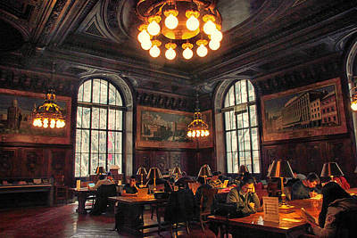 Print featuring the photograph Dewitt Wallace Periodical Room by Jessica Jenney
