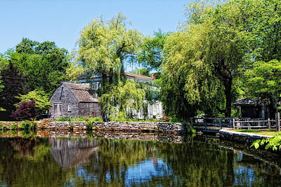 Photograph - Dexter Grist Mill by Gina Cormier