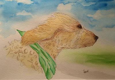Painting - Dexter by Stephanie Reid