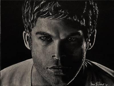 Dexter Drawing - Dexter by Yana Gifford