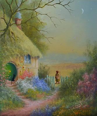 Painting - Through The Gate by Joe Gilronan