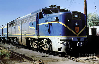 Airplane Paintings - DH 17 Alco PA4u, Delaware and Hudson, Watervliet, Long Island, New by Wernher Krutein