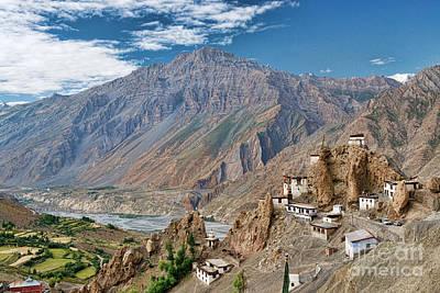 Photograph - Dhankar Monastery by Yew Kwang