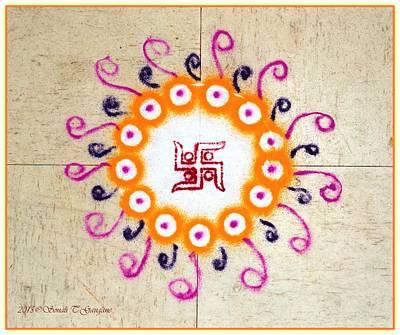 Dhanteras 2015 Art Print by Sonali Gangane