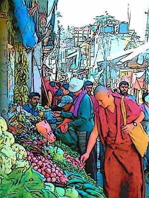 Photograph - Dharamsala by Lisa Dunn