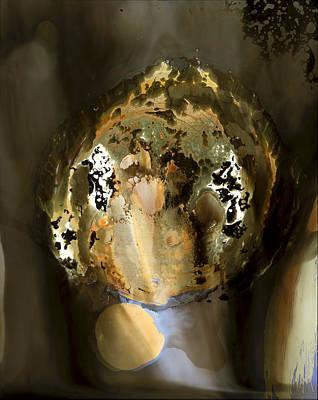 Mixed Media - Dharma Wheel by Jon Lybrook