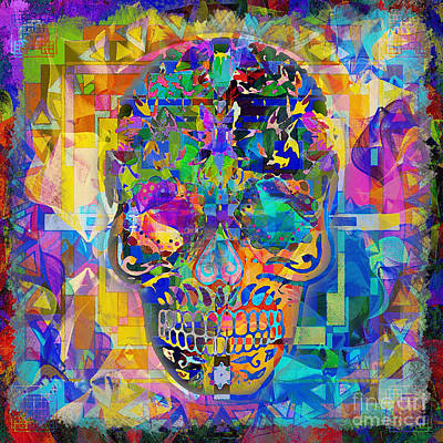 Digital Art - Dia De Los Muertos 2015 by Kathryn Strick