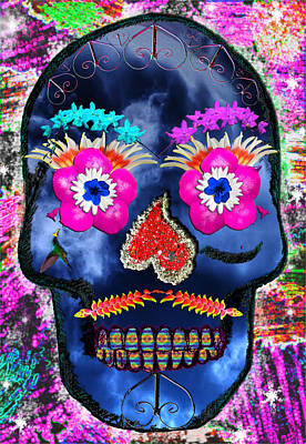 Day Of The Dead Mixed Media - Dia De Los Muertos by Dolly Sanchez