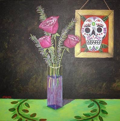 Painting - Dia De Los Muertos I by Manny Chapa
