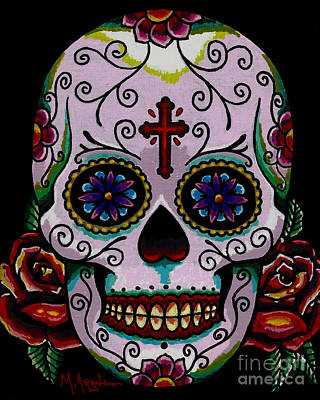 Painting - Dia De Los Muertos by Maria Arango