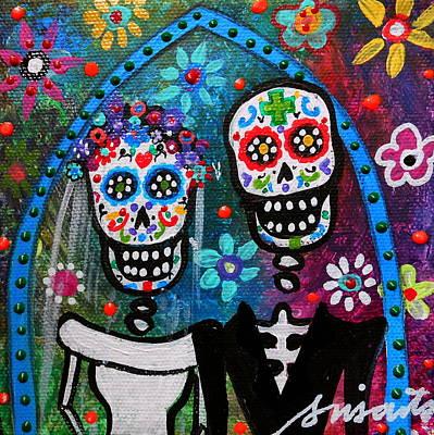 Moody Trees - Dia De Los Muertos Wedding by Pristine Cartera Turkus