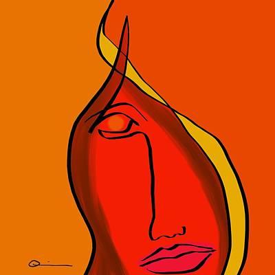 Diabla Art Print
