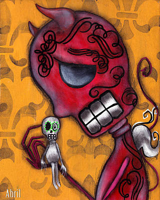 Diablito Art Print by  Abril Andrade Griffith