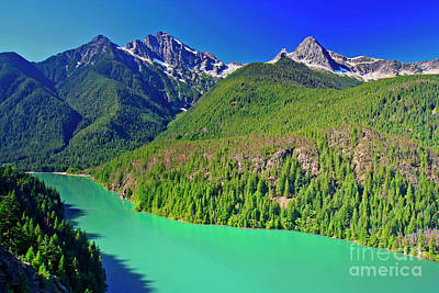 Photograph - Diablo Lake by Bruce Block