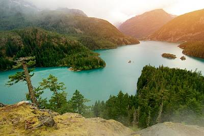 Photograph - Diablo Lake  by Julius Reque