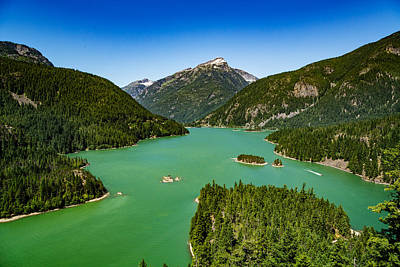 Photograph - Diablo Lake Overlook by Dave Files