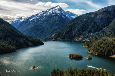 Photograph - Diablo Lake Spring by Charlie Duncan