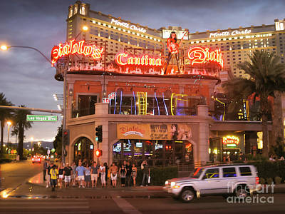 Photograph - Diablo's Cantina In Las Vegas by RicardMN Photography