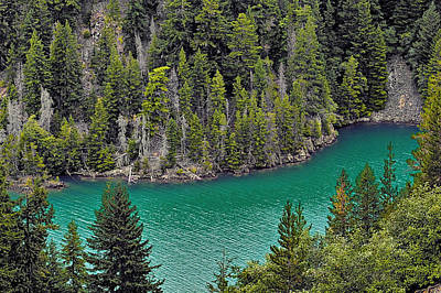 Enchanted Photograph - Diabolo Lake North Cascades Np Wa by Christine Till