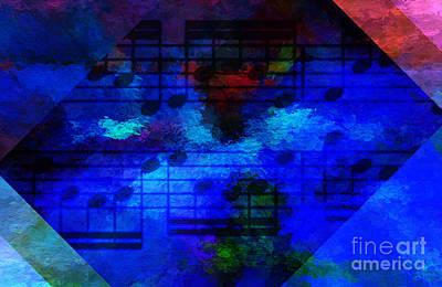Digital Art - Diagonal Diapente by Lon Chaffin