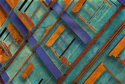 Diagonal Art Print by Don Gradner