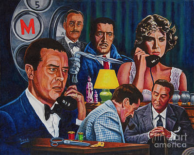 Painting - Dial M For Murder by Michael Frank