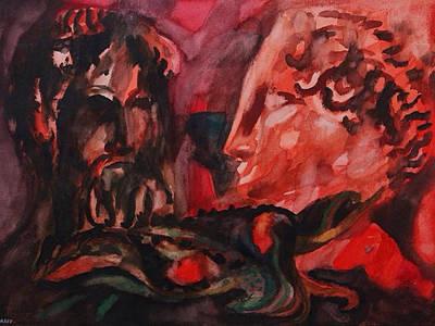 Painting - Dialogo Silenzioso by Enrico Garff