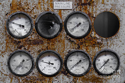 Factory Mixed Media - Dials by Svetlana Sewell