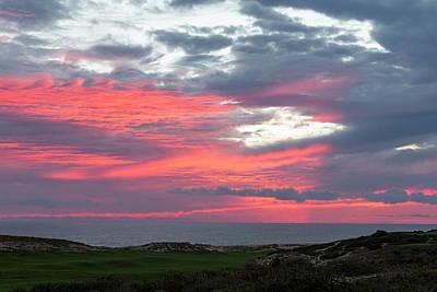 Photograph - Diamante Sunset by Mark Harrington