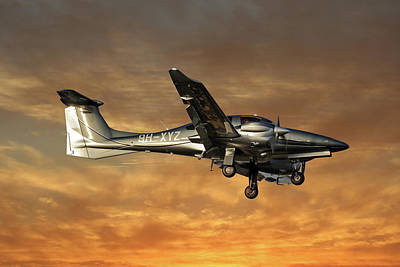 Diamond Photograph - Diamond Aircraft Diamond Da-62 2 by Smart Aviation