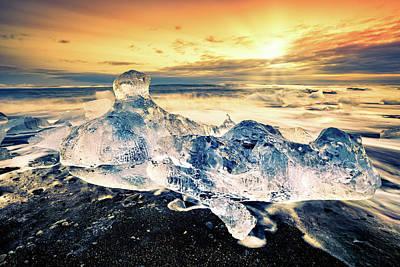 Photograph - Diamond Beach by Mihai Andritoiu